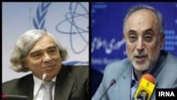 علی اکبر صالحی، رئیس سازمان انرژی اتمی ایران , ارنست مونیز، وزیر انرژی ایالات متحده