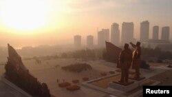 Пхэньян, Паўночная Карэя. Ілюстрацыйнае фота