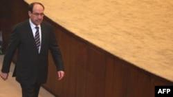 المالكي يدخل الى جلسة مجلس النواب
