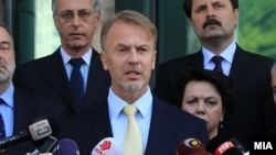 евроамбасадорот во Македонија Аиво Орав