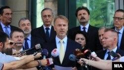 Изјава за медиумите од шефот на Делегацијата на ЕУ амбасадорот Аиво Орав