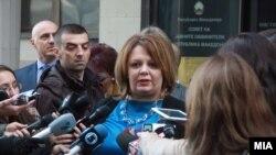 Специјалната обвинителка Катица Јанева.