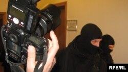 Бійці спецпідрозділу «Альфа» у головному офісі НАК «Нафтогаз України» в Києві, 4 березня 2009 р.