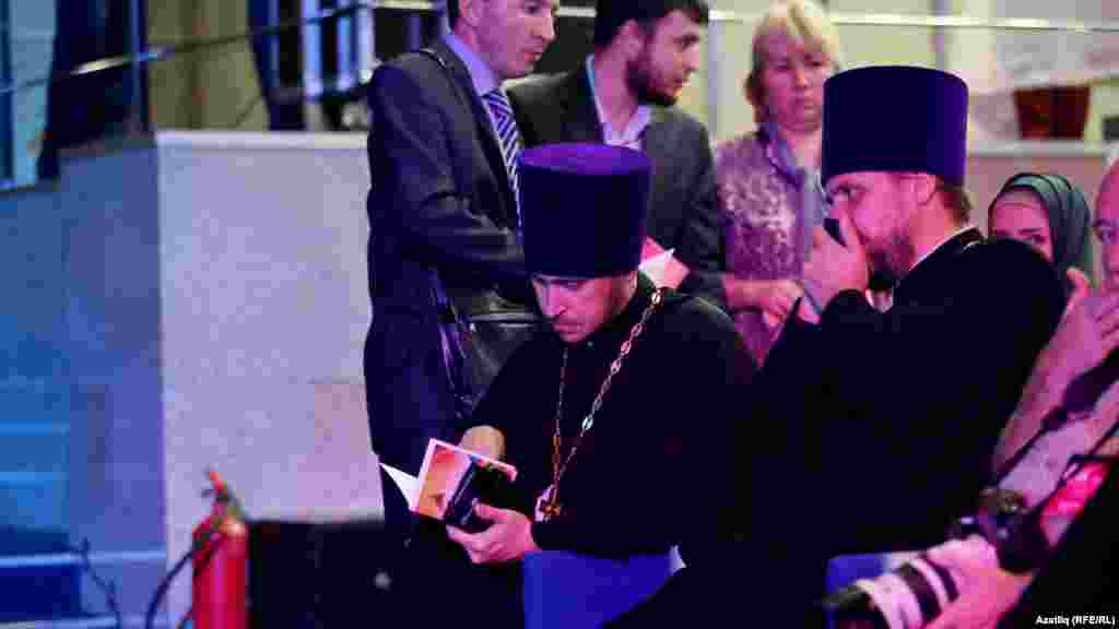 Orthodox priests are among the guests at the Muslim-themed film festival.