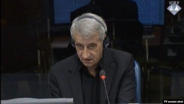 Milovan Lelek u sudnici