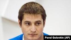 Россиянин Максим Лапунов, рассказавший о пытках представителей ЛГБТ-сообщества в Чечне.