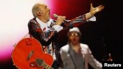 Dino Merlin na Eurosongu, maj 2011.