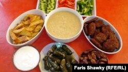 مائدة افطار رمضانية