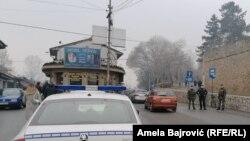 Žandarmerija i policija u Novom Pazaru, 18. decembar 2020.