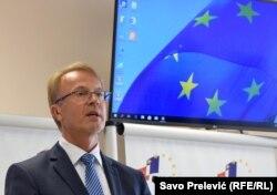 EU neće govoriti Crnoj Gori, kao suverenoj zemlji, šta treba da radi i kakvu će Vladu da pravi: Aivo Orav