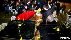 Zatvaranje birališta, 15. novembar 2009.