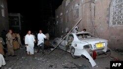Наслідки вибуху в Сані, 29 червня 2015 року