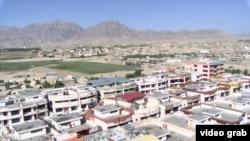 Вид на Кабул.