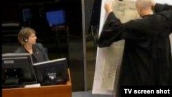 Istražiteljica Erin Gallagher tokom svjedočenja