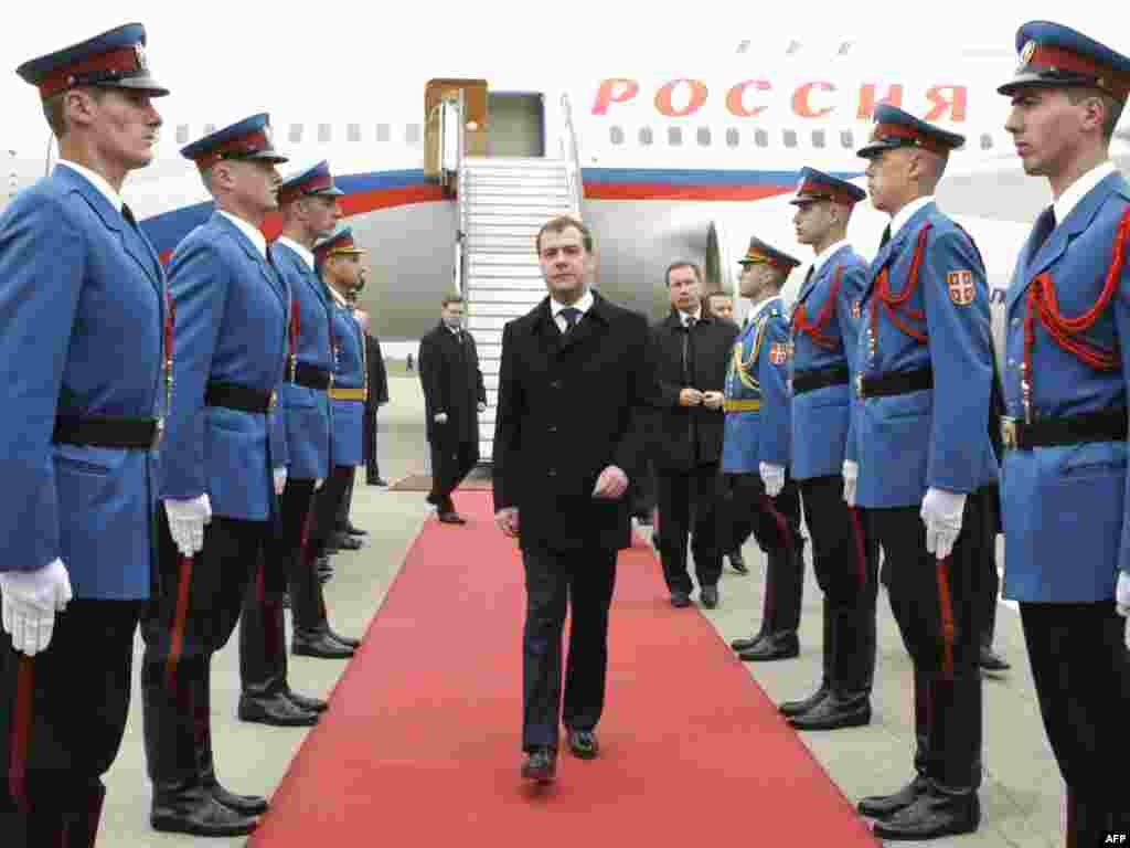 Ruski predsjednik Dmitri Medvedev