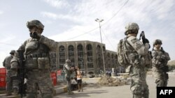 جنود أميركيون في شوارع بغداد 2009