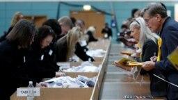 Qendër e numërimit të votave në Britani