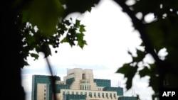 Штаб-квартира британской службы MI6 в Лондоне