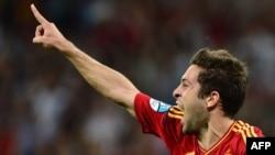 Jordi Alba'nın qolu