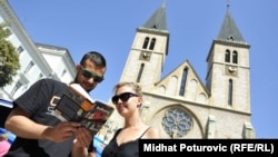 Poljski turisti Julia i Maciek u Sarajevu