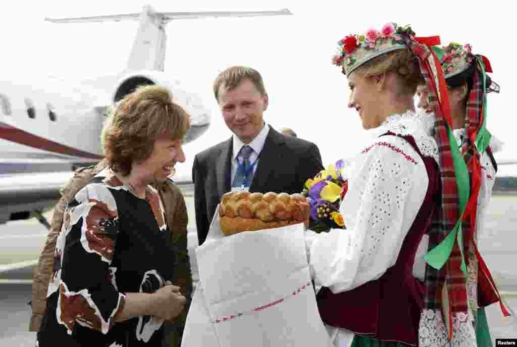 Верховный представитель Евросоюза по внешней политике Кэтрин Эштон