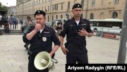 Московская полиция, архивное фото