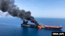 Tanker u Omanskom zalivu