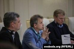 Юры Губарэвіч, Анатоль Лябедзька і Віталь Рымашэўскі