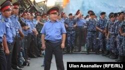 Бишкек милиция кызматкерлери