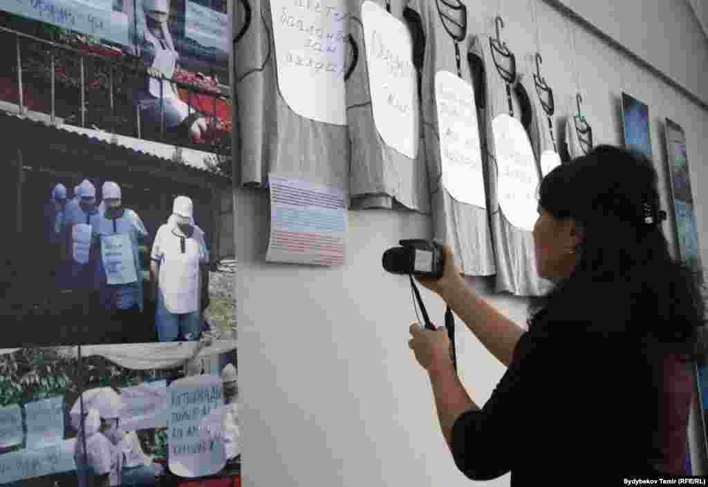 Как сообщает отдел по связям с общественностью «ООН-женщины», данный проект является результатом социально-художественного эксперимента - женщины сел Кыргызстана говорят об острых социальных проблемах местного уровня на языке искусства.