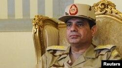 Член тимчасового уряду Єгипту, перший заступник прем'єр-міністра і міністр оборони Абдель-Фаттах ас-Сісі