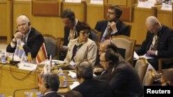 Pamje gjatë takimit të sotëm të Ministrave të Jashtëm të BE-së dhe të Ligës Arabe në Kajro