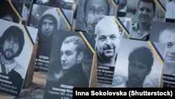Ілюстративне фото. Портрети загиблих учасників Революції гідності. Київ, 2015 рік