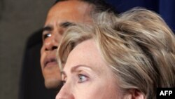 Hillary Clinton dhe Barack Obama