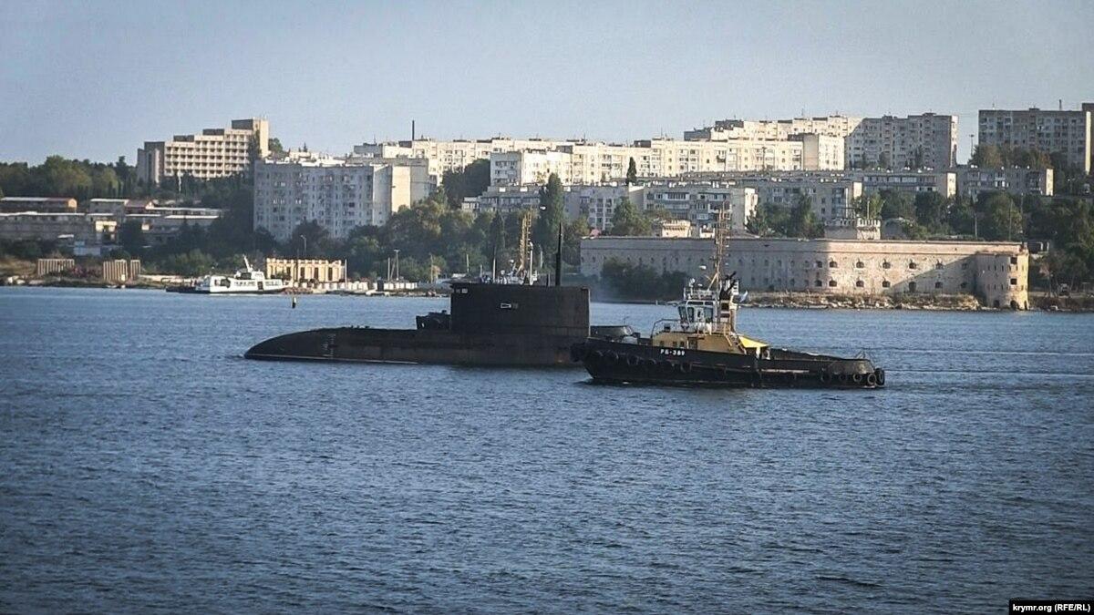 Російські військові провели навчання зі знищення субмарини в Чорному морі