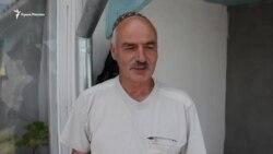 Житель Урожайного о проверке документов российскими пограничниками (видео)