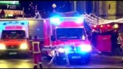 Berlində yük maşını Milad yarmarkasına çırpılıb – 9 ölü