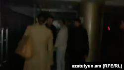 În timpul atacului asupra redacției Radio Azatutyun din Yerevan
