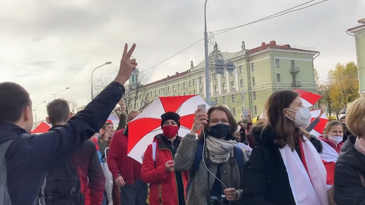 Protests Expected In Belarus As Opposition Deadline Reached
