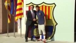 """""""Barselona"""" Neymarla müqaviləni uzatdı"""