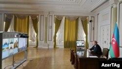 Ильхам Алиев на заседании Совбеза