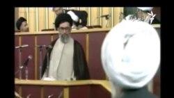 فیلم تازهای از جلسه انتخاب خامنهای بهعنوان رهبر جمهوری اسلامی در مجلس خبرگان