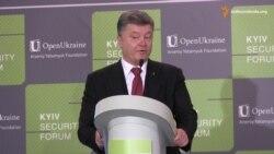 Україна говоритиме лише з законними представниками Донбасу - Порошенко