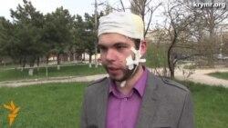 Избитый активист подал заявление в полицию