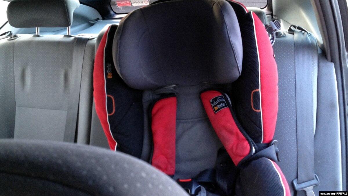 С 20 ноября водителей будут штрафовать за отсутствие детского кресла