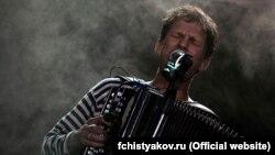 Фёдар Чысьцякоў на канцэрце ў Кіеве ў 2010