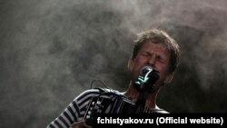 Федор Чистяков на концерте в Киеве в 2010 году.