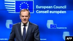 Дональд Туск (на фото) переобраний головою Європейської ради