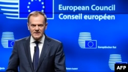 Only Poland voted against a second term for European Council President Donald Tusk. (file photo)