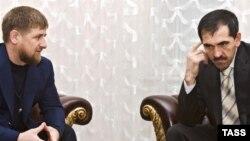 Нохчийчоь - Нохчийчоьнан, ГIалгIайчоьнан куьйгалхой Кадыров Рамзан а, Евкуров Юнусбек а Соьлж-гIалахь цхьанакхеттачу хенахь, 12Лах2008